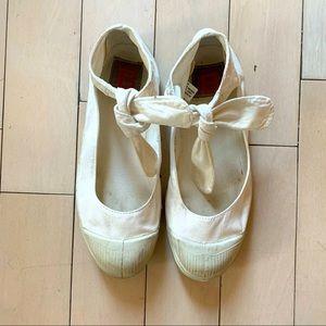 BENSIMON ICONIC Cotton Tennis Shoe